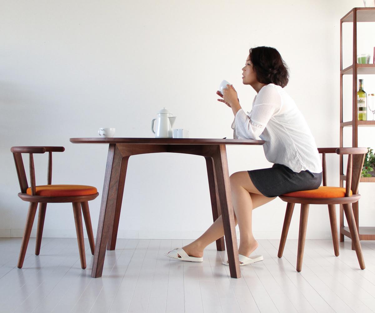 インテリアNASU / croce クローチェ ダイニングテーブル